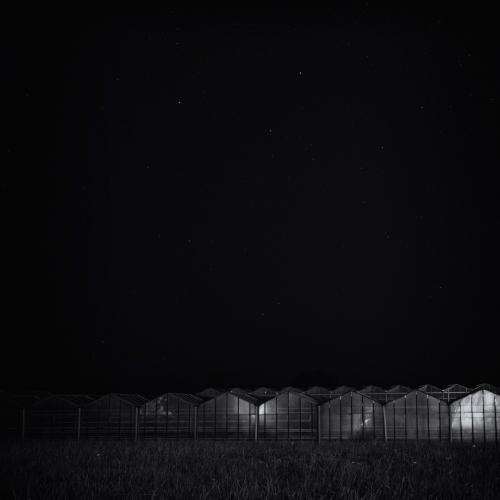 Kassen in de nacht - Cieweg